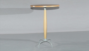 BEECH BAR TABLE