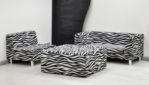 ZEBRA SET SOFA // S-SF-15 & S-SF-17