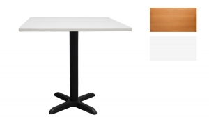 SQUARE TABLE - BLACK LEG // T-01
