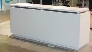 "RECEPTION COUNTER ""KIO"" L // CT-09"