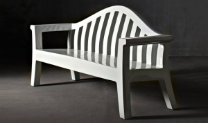 """GIULIETTA"" BENCH by SERRALUNGA // S-SF-04"